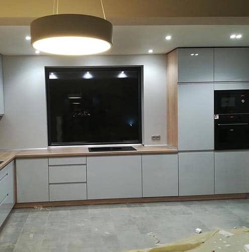 projekty mebli kuchennych kuchnie na wymiar racib rz. Black Bedroom Furniture Sets. Home Design Ideas
